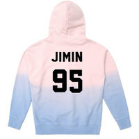 KPOP Bts Wings Gradient Cap man and woman sweatshirts Hoodie Bangtan Boys Pullover Unisex JIN suga V J HOPE SUGA Sweatershirt