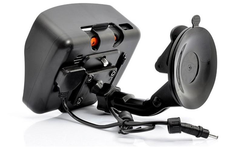 Hot sale 4.3 Inch 8GB 128256 RAM IPX7 Waterproof Moto Bluetooth GPS Navigator for Motorcycle Motorbike Car+Bracket Free Maps (9)