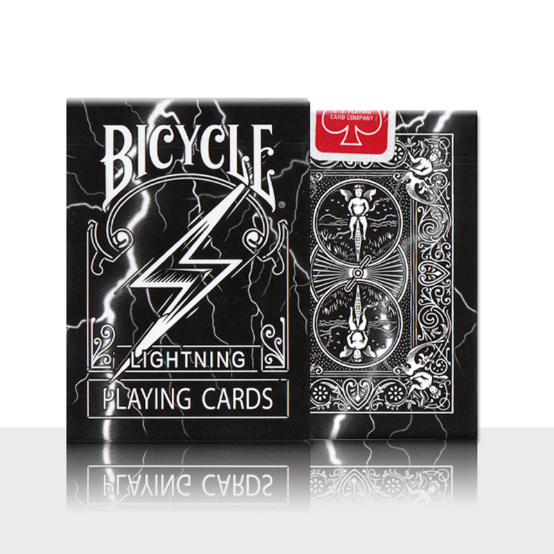 1 Deck Original Bicycle Lightning Playing Cards Magic Tricks Collection Magic Poker Cards Magic props 82193 1pcs cards magic tricks floating poker cards magic props ufo card mentalism close up stage magic 032