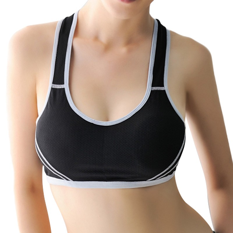 Women Hot Shockproof  Vest Push Up Padded Stretch Underwear Top Fashion Tank