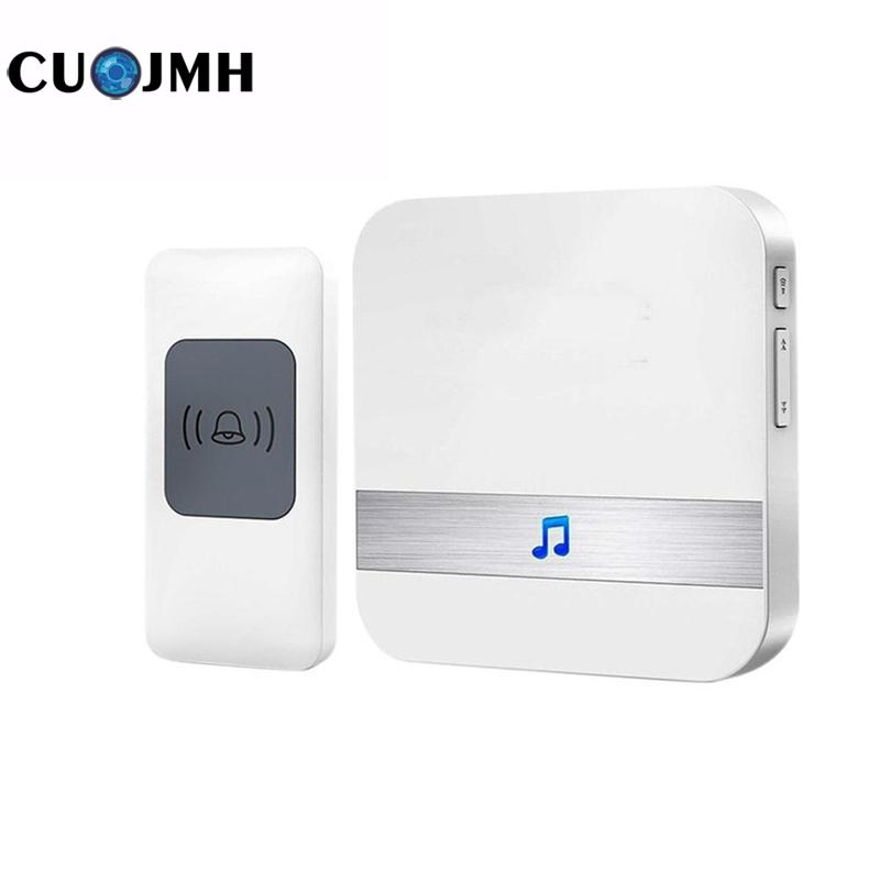 Tz801 Wireless Door Bell Wireless Home safety Doorbell Communication Digital Remote Control 3 Colors Wifi Doorbell fk 0011dc digital doorbell with wireless remote control function for homes offices factories restaurants and so on