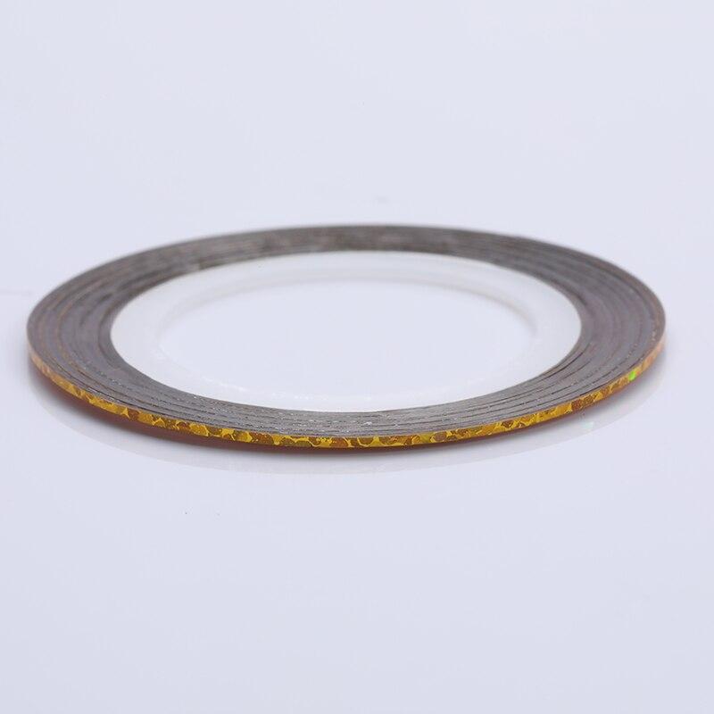 2 мм матовый блеск для ногтей, Чередование ленты линия разноцветные, для ногтей инструмент для укладки волос Стикеры наклейка DIY украшения для ногтей - Цвет: 30