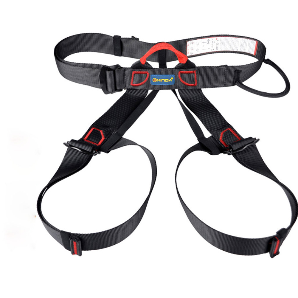 Outdoor Camping Climbing Safety Harness Seat Belts Sitting Rock Climbing Rappelling Tool Rock Climbing Accessory
