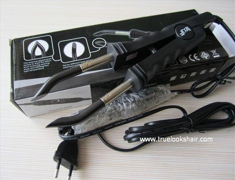 Free Shipping Loof Fusion Hair Extension Iron Keratin Bonding Tools