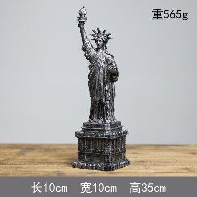 Statue de la liberté dans les tours Eiffel nord de l'europe créative américaine cave à vin salon décor est rétro ornement maison