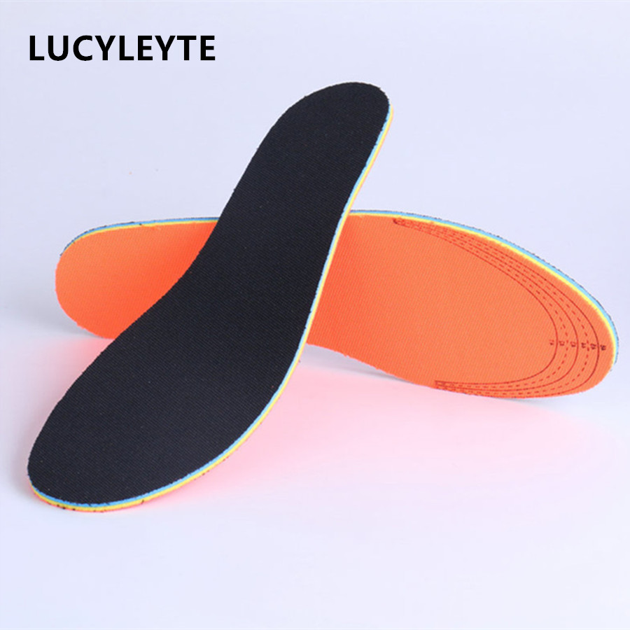 Ultra Breathable Insoles for Men Women Sweat-absorbent Deodorant Sport Casual Shoes Insert Health Insole Soles Foot Pad bamboo charcoal insoles health sweat absorbent breathable foot pad damping shoe insoles anti slip plantillas zapato accessories