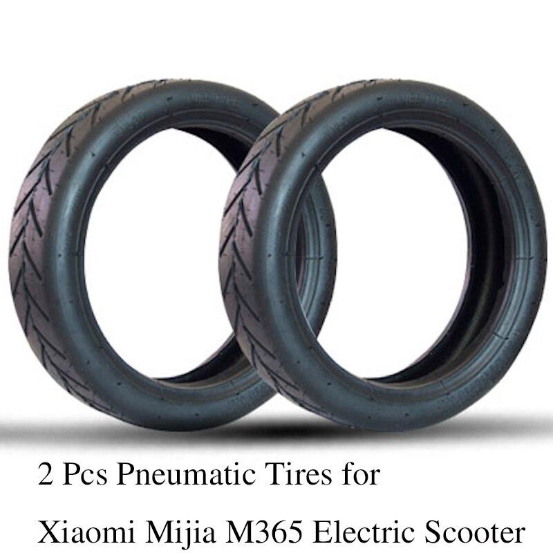 2 Pz Camere D'aria di Pneumatici Gonfiaggio Tubo per Xiaomi Mijia M365 Scooter Elettrico 8 1/2x2 Aggiornato Spessore Ruota A Vuoto pneumatico