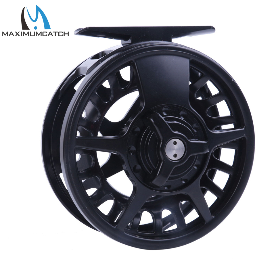 Maximumcatch 5 6 7 8 WT Fly Reel Aluminum Black Right Left handed Fly Fishing Ree