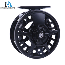 Maximumcatch 5/6/7/8 WT Fly Reel Aluminum Black Right&Left-handed Fly Fishing Ree Fly Reel