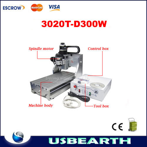 New released !! CNC 3020T-D300 Router Engraver/Engraving Drilling and Milling Machine