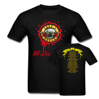 Guns N Roses Not In This Lifetime 2017 Europe Tour Date T Shirts Men And Women