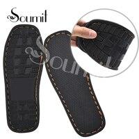 Soumit DIY ручной вязки резиновый материал для обуви подошвы Тапочки Outsoles для обуви Нескользящие вязальные крючки