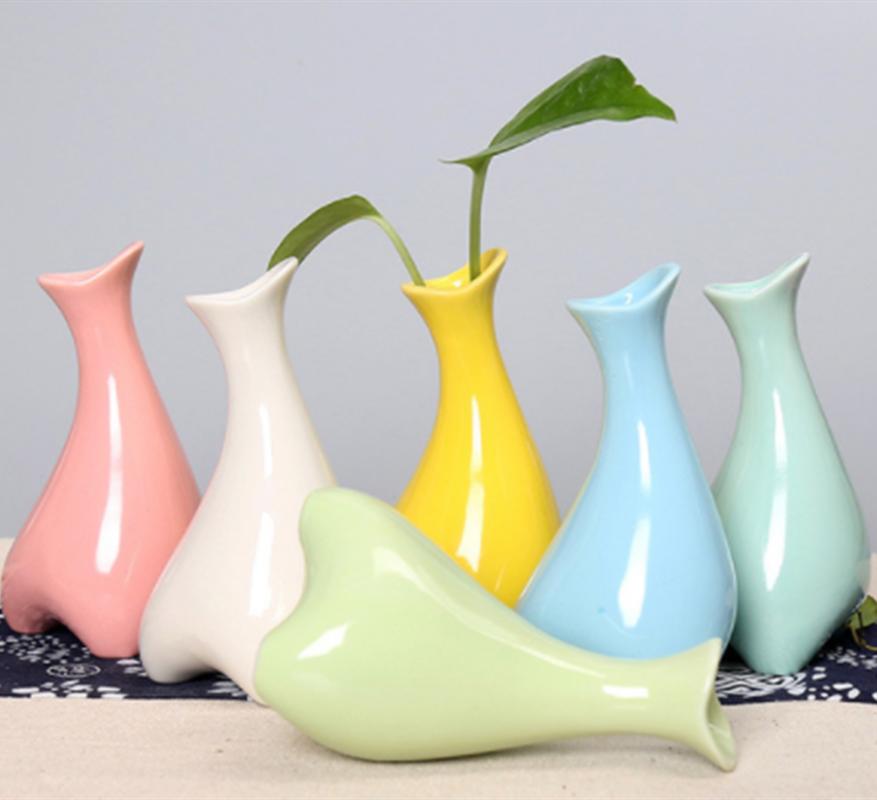 Vasen Haus & Garten Begeistert Moderne Dekoration Vasen Tabletop Aromatherapie Flasche Keramik Anlage Samen Unregelmäßigen Vasen Für Dekoration Weihnachten Geschenk Handwerk
