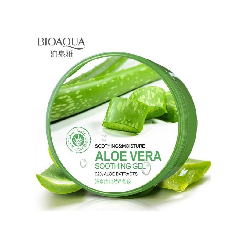 BIOAQUA Aloe Vera Soothing Gel Day Cream Soothing Moisturizing Whitening Anti Wrinkle Anti Aging Face cream Skin Care