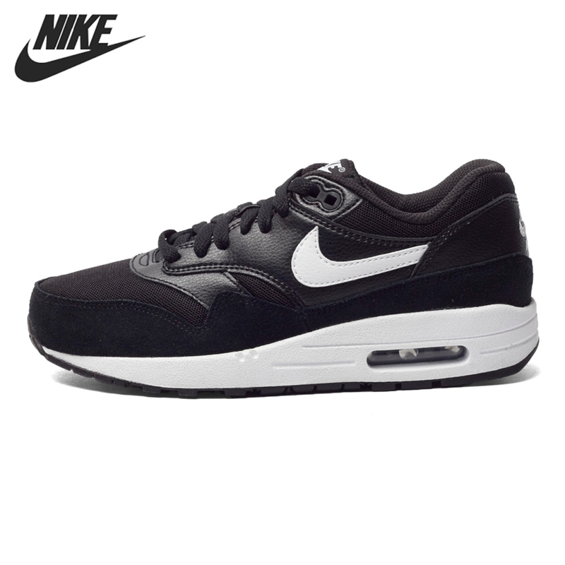 Original New Arrival 2016 NIKE WMNS AIR MAX 1 ESSENTIAL Women\u0026#39;s Running Shoes Sneakers free shipping