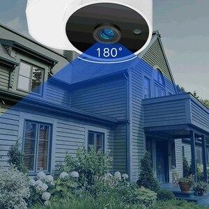 Image 3 - Youpin Xiaovv açık panoramik kamera gözetim kamera kablosuz WIFI yüksek çözünürlüklü gece görüş ile çalışmak akıllı ev APP