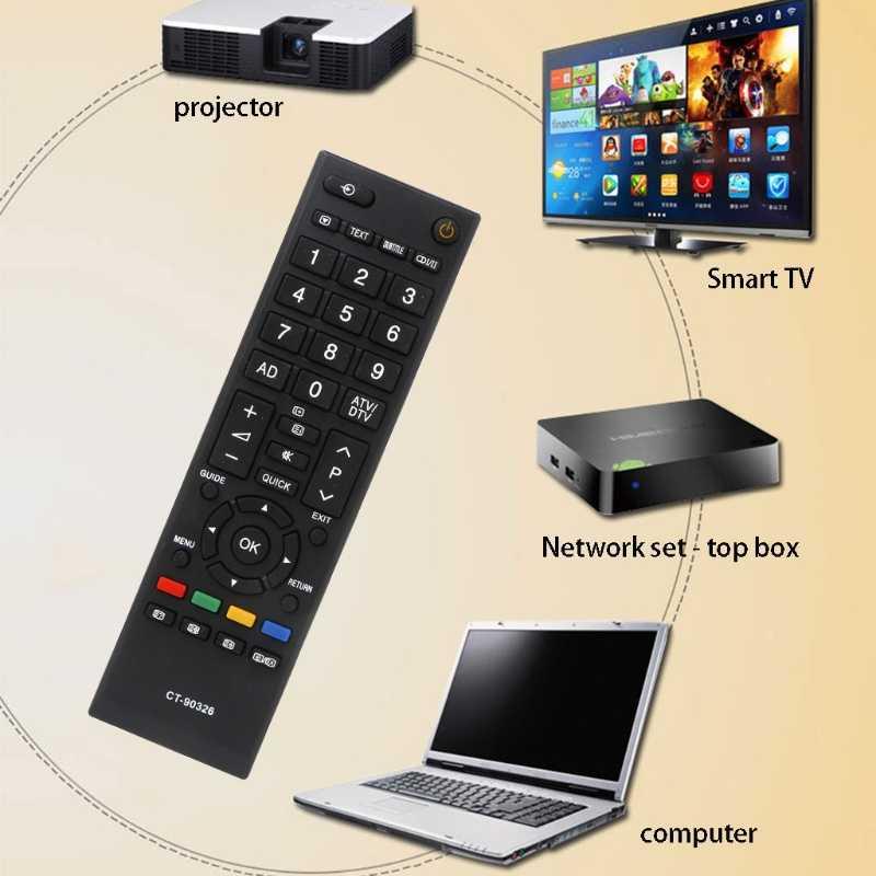 OOTDTY новый черный умный дом светодиодный ТВ дистанционного Управление для TOSHIBA CT-90326 CT-90380 CT-90336 CT-90351