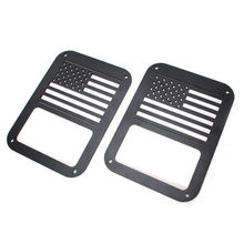1 Pair Durable Tail lamp Taillight Cover Guards Protector for Jeep Wrangler 2 4 door