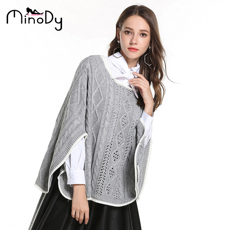 54def83ef24 MINODY Women Sweater Loose And Comfortable Casual O-Neck Fashion Pullovers  Cloak Shawl Loose Coat. US  28.35. 2019 Women Dresses Plus Size Spring ...