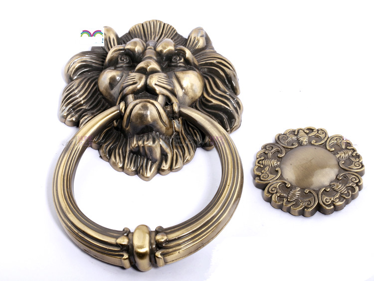 Image 3 - 1pcs Door Knocker  Lions Furniture handle Home Decor wooden door knocker  Furniture handle-in Cabinet Pulls from Home Improvement