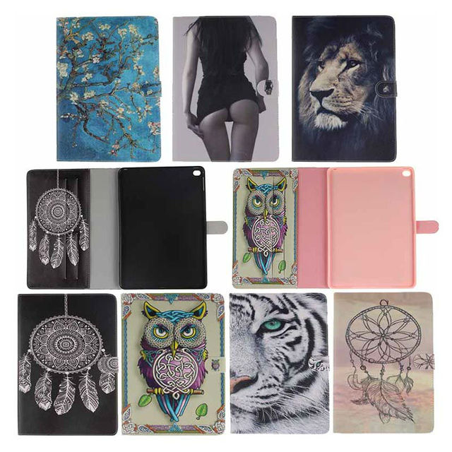Book style PU Leather Print Pattern Skin Case cover for Apple ipad air 2 case for ipad 6 Protective Tablet Covers