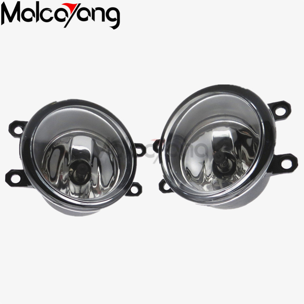 For toyota VERSO 2006 Car styling Front bumper Original Fog Lights fog lamps 1 set (Left + right) 81210-06052 купить