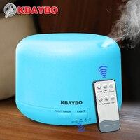 Điều Khiển từ xa 300 ML Ultrasonic Air Aroma Humidifier Với 7 Màu Lights Hương Liệu Điện Essential Oil Aroma Diffuser
