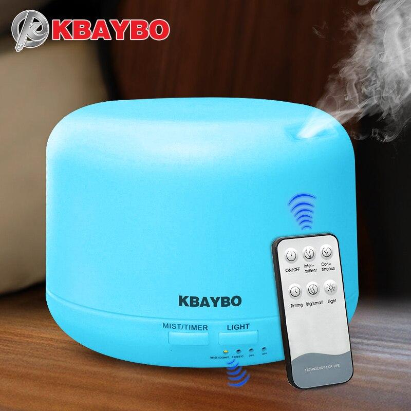 Telecomando 300 ML Ultrasuoni Air Aroma Umidificatore Con 7 Luci di Colore Elettrico Aromaterapia Olio Essenziale Aroma Diffusore