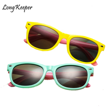 Long Keeper Polarized niños Gafas de sol niños niñas bebé Infantil moda  Gafas de sol 100% UV400 Gafas niño Gafas Infantil 1861e3b013