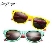 e06209d53aae0 Longo Goleiro Infantil óculos de Sol Da Moda Óculos Polarizados óculos de Sol  Dos Miúdos Das