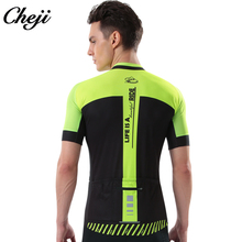 CHEJI Men Cycling Jersey Bike Bicycle Long Sleeves Cycle Wear Clothing Outdoor Sports Breathable Mountain MTB Shirts Tops