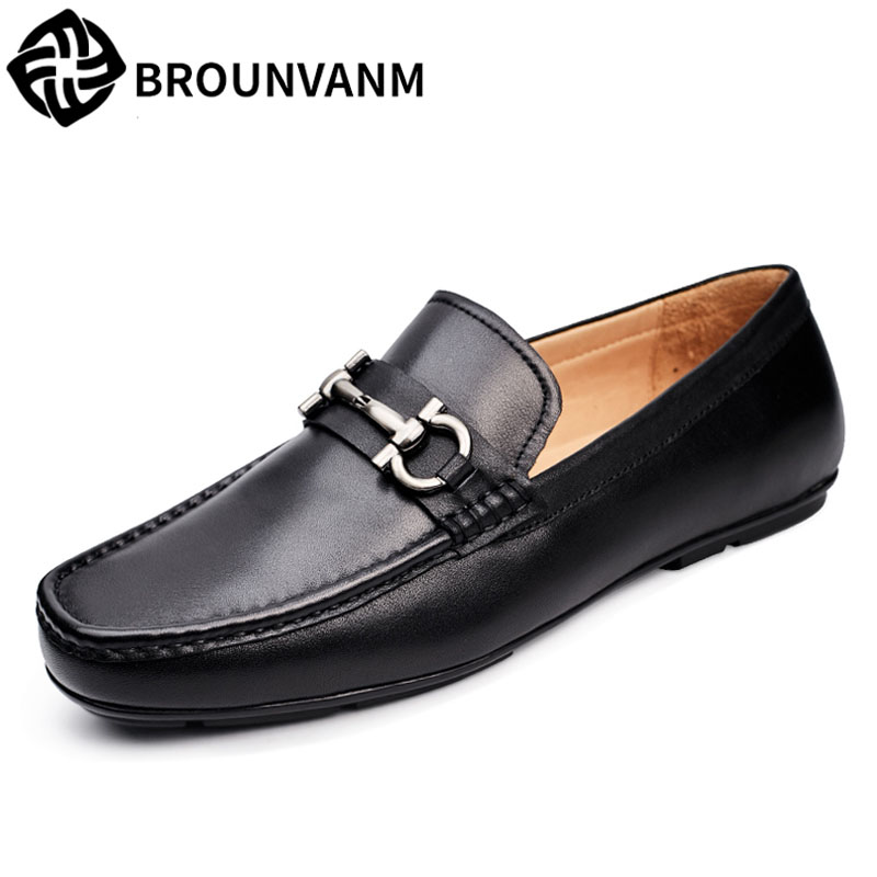 2018 new men's shoes leather British retro male shoes spring and autumn cowhide breathable Men Flats Fashion High Quality autumn winter european british retro men shoes male leather breathable sneaker fashion boots men casual shoes handmade fashion