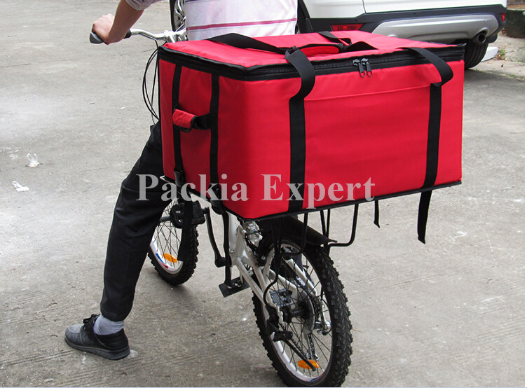 102Lcm 61*55*42CM Food delivery bag for motorcycle pizza or cake or juice hot style Thermal insulation bag PIZZA DELIVERY bag