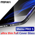 Meizu pro 5 glass tempered meizu pro5 screen protector ultra thin full cover mofi protection glass film super slim clear 9H 2.5