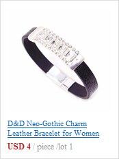 Женский кожаный браслет в богемном стиле черный квадратный широкий