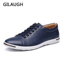 Gilaugh 브랜드 뉴 클래식 스타일 남성 캐주얼 신발, 패션 단순 디자이너 남성 신발, 플러스 사이즈 라이트 편안한 플랫