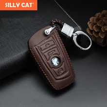 Handmade Car Key Fob Case Cover For BMW 320i 325 520 525 F30 F10 F18 1 3 5 7 Series 118i 730 X3 X4 M3 M4 M5 4 buttons car key cover fob remote shell case for bmw f10 f20 f30 f40 5 7 series m15