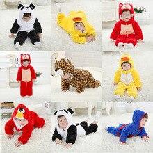 Одежда для малышей с героями мультфильмов от 0 до 24 месяцев комбинезоны для мальчиков и девочек комбинезоны для новорожденных Детская Хлопковая одежда высокого качества