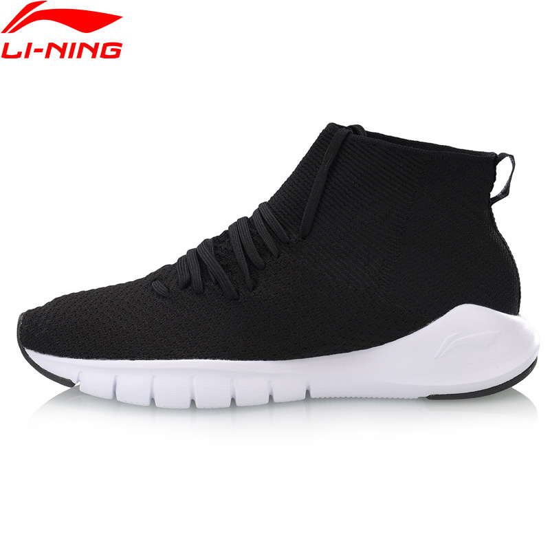 Li Ning Men FLEX 2018 Smart Moving Running Shoes Breathable Wearable Sneakers LiNing Comfort Sport Shoes