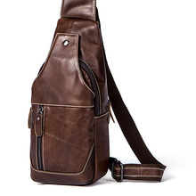 Genuine Leather Men Messenger Bag Casual Crossbody Bag Fashion Men's Handbag men chest bag Male Shoulder Bag Travel New Handbags new genuine leather waist belt bag men leather shoulder men chest bags fashion travel crossbodys bag man messenger bag male flap