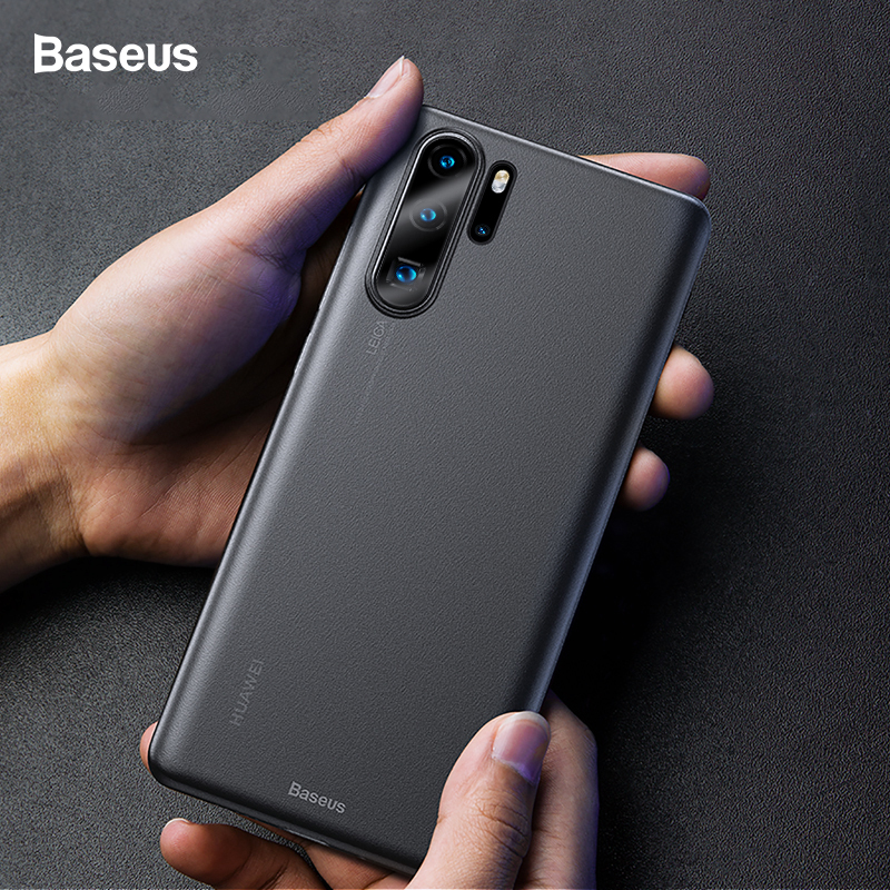 Baseus <font><b>Phone</b></font> <font><b>Case</b></font> For Huawei <font><b>P30</b></font> Pro Untra Thin Slim Hard PP Frosted Protective Back Cover For Huawei <font><b>P30</b></font> P30Pro Coque Fundas image
