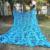 3.5 M * 10 M Camo Compensação azul rede de camuflagem camo tarp para pérgulas de compensação compensação sol abrigo gazebo telhado decoração