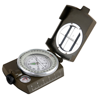 Multi Functional Inch Scale Outdoor Travel Camping Portable Military Compass Hiking Tools Fluorescent Light Best Quality