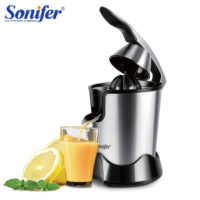 Stainless Steel Orange 300W Lemon Electric Set Juicers Aluminum Die -casting Handle Household Low Power Sonifer
