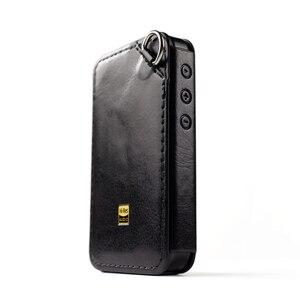 Image 5 - C M6 حقيبة جلد ل FiiO M6 ، مرحبا الدقة لاعب M6 أغطية جلد. أسود