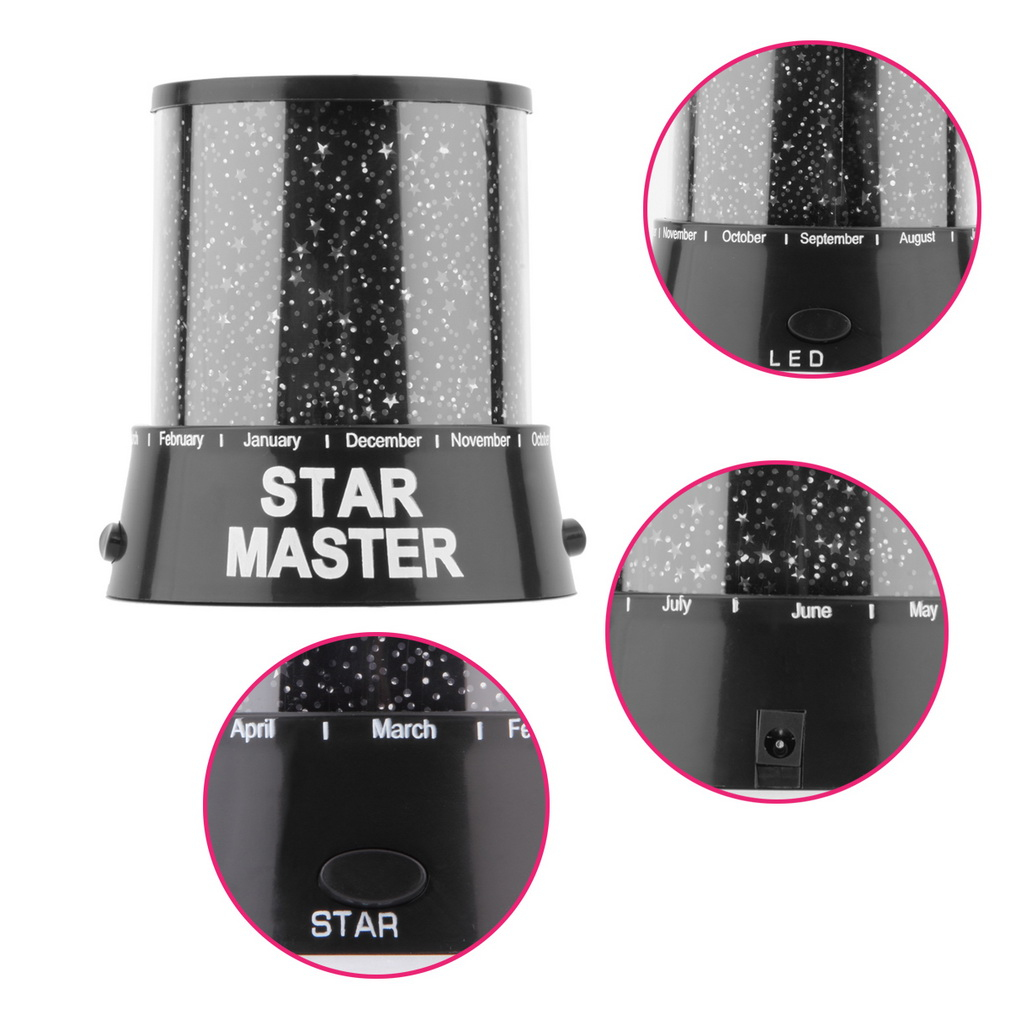 Romantic Amazing LED Starry Night Sky Projector Table Lamp Novelty Night Light Luminaria Lamparas Lampe Table Lamps Brand New