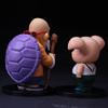 2 style japonia anime Dragon Ball Z mistrz Roshi żółw Oolong świnia pcv Action Figures Model lalki dla dzieci prezenty