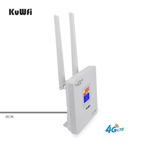 Image 5 - KuWFi 300Mbps Wireless Router 4G LTE Wifi Router With SIM Card Slot&RJ45 Port Dual External Antennas for home