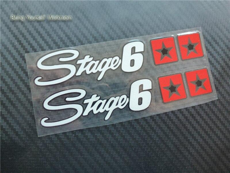Prix pour Réfléchissant allemagne stade 6 racing moto autocollants motocross voiture style moto d'échappement stickers autocollant de voiture pour atv sbk