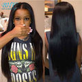 8a Mink Brazilian Hair With Closure Unprocessed Straight Brazilian Hair With Closure Queen Brazilian Straight Hair With Closure
